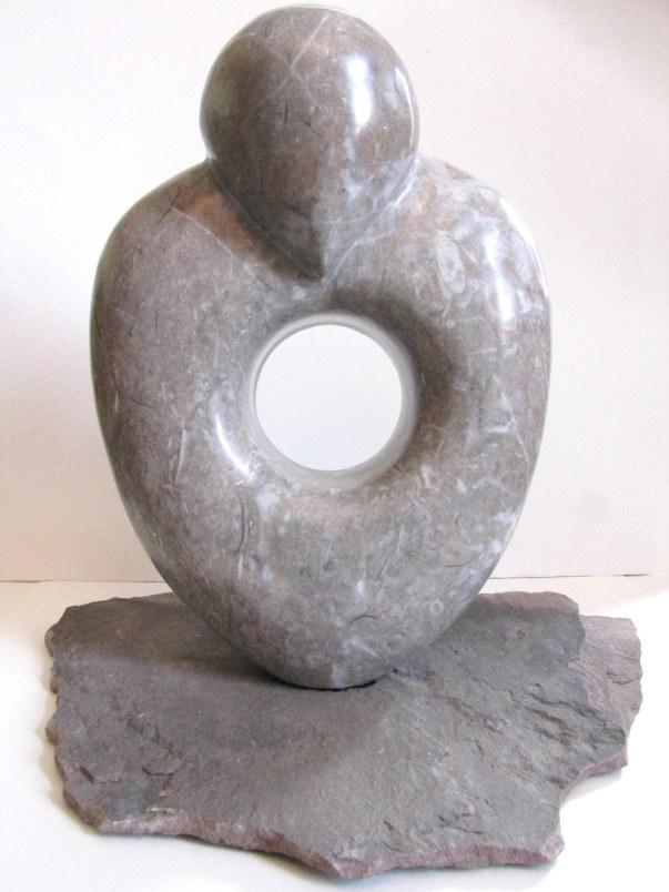 Idol -- Tenessee marble, limestone
