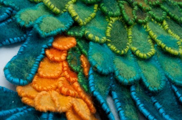 Parrot Pectoral - detail