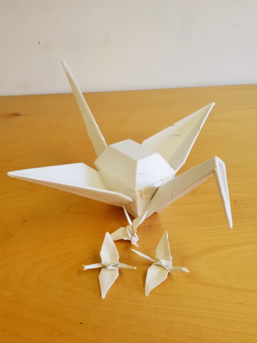 Paper Crane Box, closed
