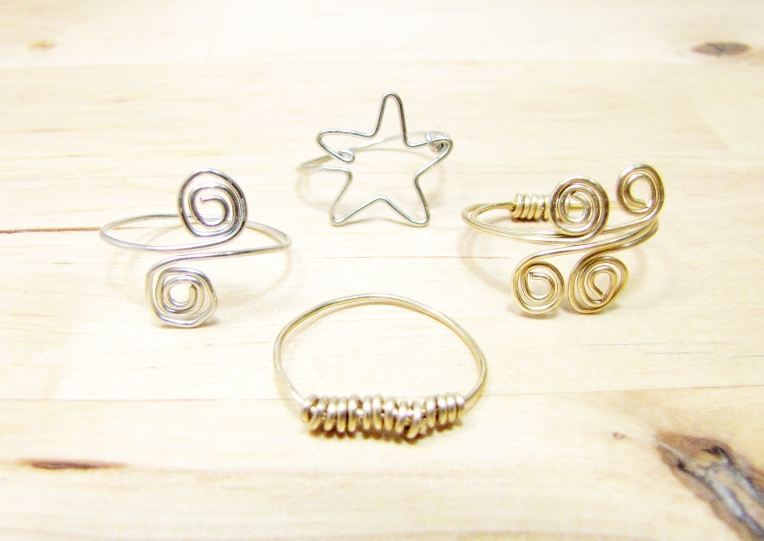 Jewelry Class: Simple Wire Rings – Sara Kear Metalsmith