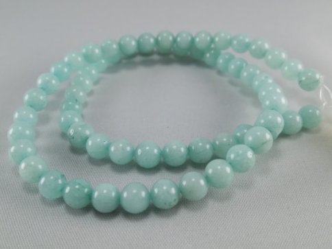 Amazonite (Photo: Beadstobeauty at Etsy)