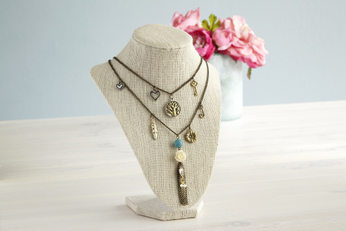 vintage charm necklace may free