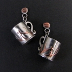 Coffee Cup Earrings 02