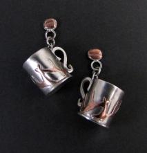 Coffee Cup Earrings 02
