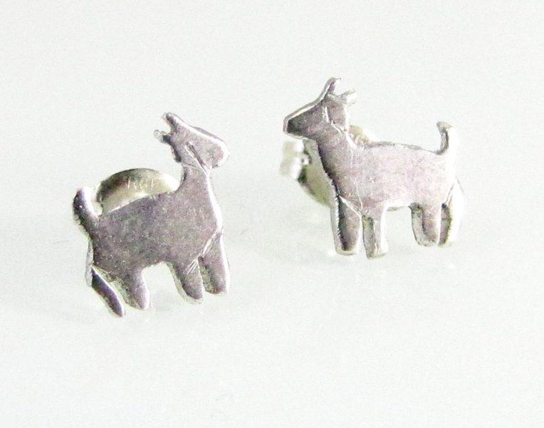 Goat Earrings 2