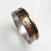 Golden Clouds Ring 01
