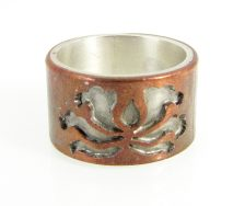 Lotus Band Ring