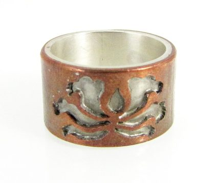 Lotus Band Ring