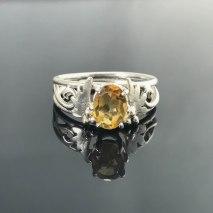 Peggy Citrine Ring