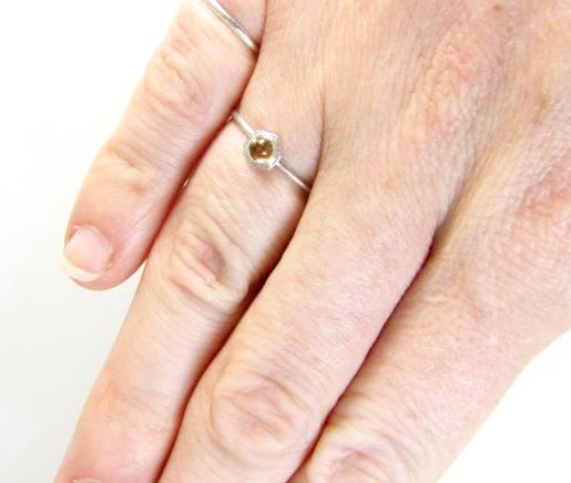 Honey drop ring 4