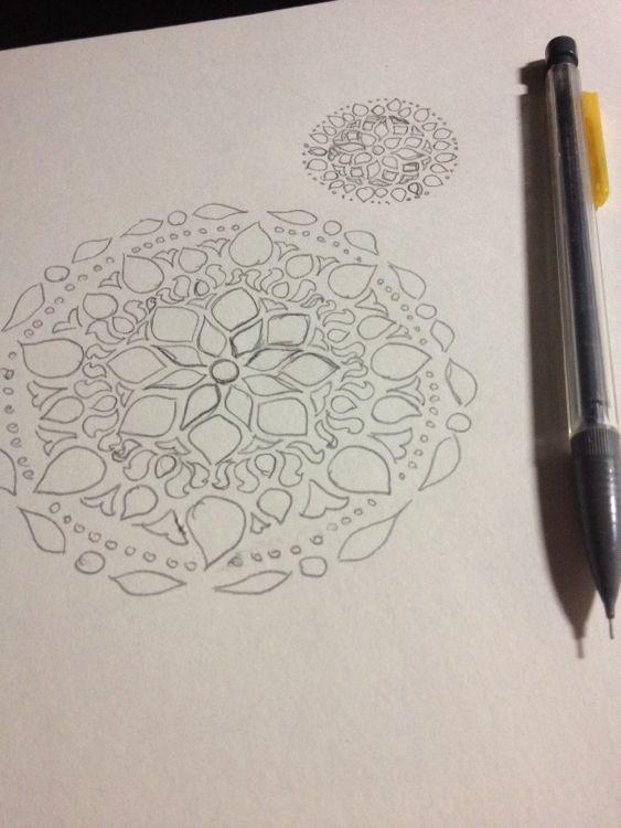 mandala-sketches