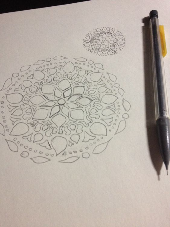 mandala-sketches