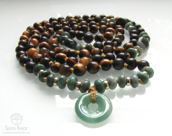Ground Strength Mala Necklace