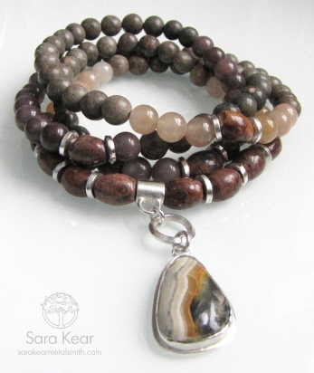 Wild Honey Wrap Mala