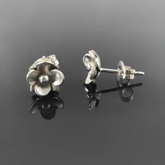 earrings - flower earrings 1