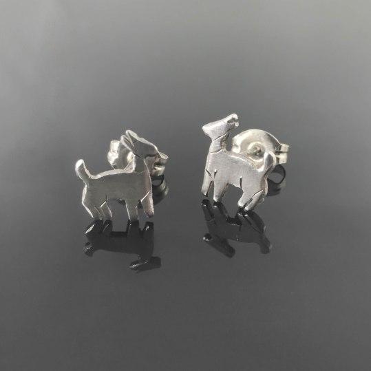 earrings - goat earrings 1