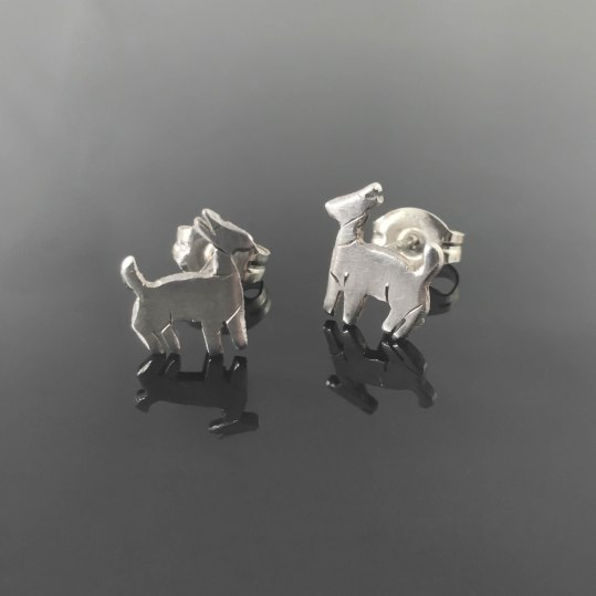 earrings - goat earrings 1