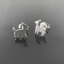 Goat Earrings A-2