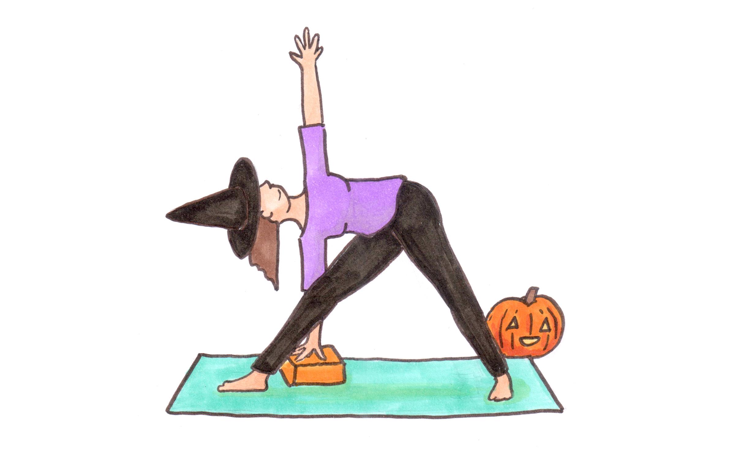 Free Halloween Yoga Class \u2013 Sara Kear